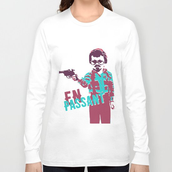 En Passant Poster Long Sleeve T-shirt