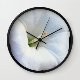 Thornapple Flower Wall Clock