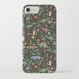Dinosaur Jungle iPhone Case