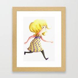 fh Framed Art Print