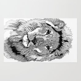 Animal Prints - Proud Lion - By Sharon Cummings Rug