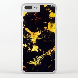 Crater Clear iPhone Case