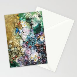 Biophilia - madewithunicorndust by Natasha Dahdaleh Stationery Cards