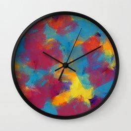 A Tropical Paradise - Abstract Art Wall Clock