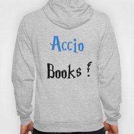 Accio books! (Blue) Hoody