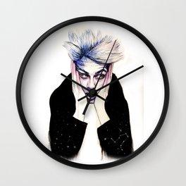 Paranoid - Lucky Blue Smith Wall Clock