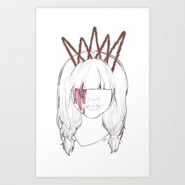 Ann Art Print