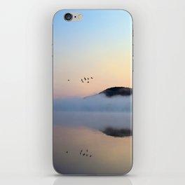 Enlightenment: Sunrise on Lake George iPhone Skin