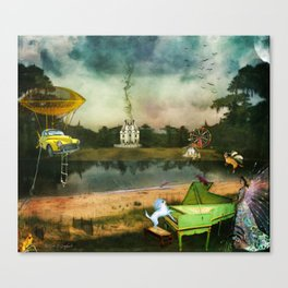 To Wish Impossible Things Canvas Print