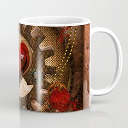 Steampunk, awesome steampunk heart Coffee Mug