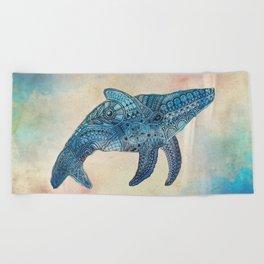 Baby Whale Beach Towel