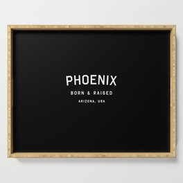 Phoenix - AZ, USA (Arc) Serving Tray
