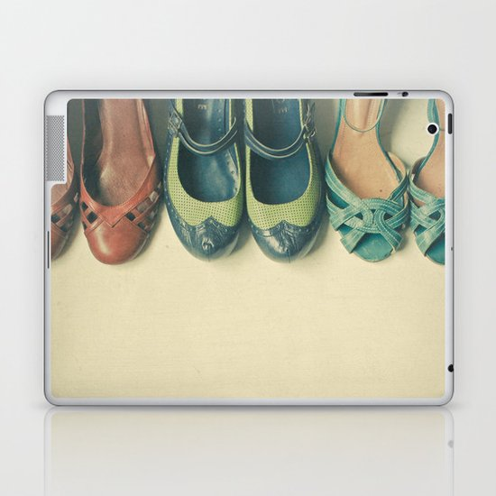The Shoe Collection Laptop & iPad Skin