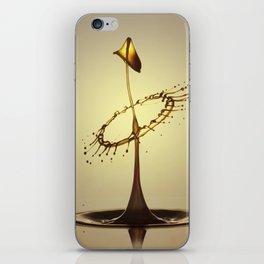 Yellow Hood iPhone Skin