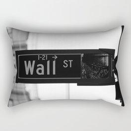 Wall St. Minimal - NYC Rectangular Pillow