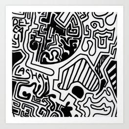 Print work  Art Print