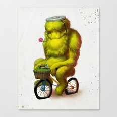 Bike Monster 1 Canvas Print