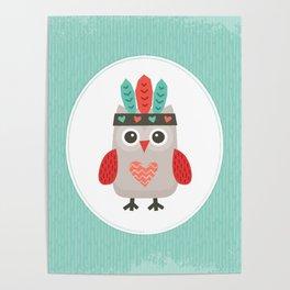 HIPSTER OWLET alternate version Poster