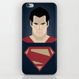 Man of Steel iPhone Skin