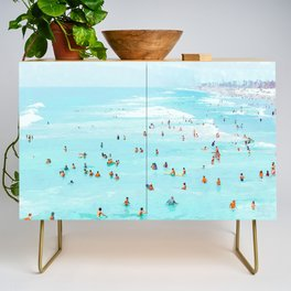 Hot Summer Day #painting #illustration Credenza