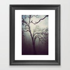 Silent Anticipation Framed Art Print