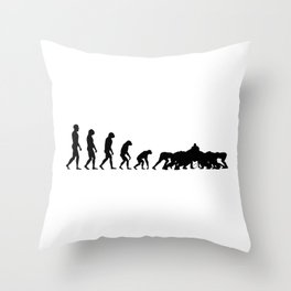 Evolution Rugby #6 - Scrum Throw Pillow