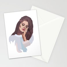 Miss Lana 60s Style Stationery Cards