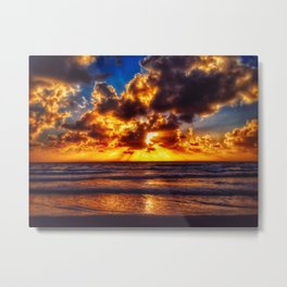 Solana Beach burst of color Metal Print