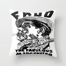 Fado Marceneiro Throw Pillow