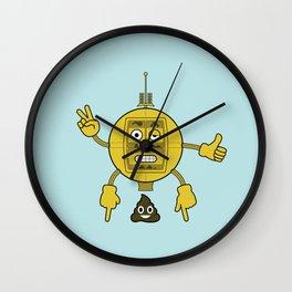 Emojibot Wall Clock