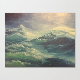 The Sea is Selective Canvas Print
