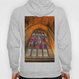 Stained Glass Abbey Window Hoody