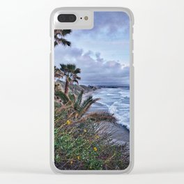 Cardiff, Early Spring Clear iPhone Case