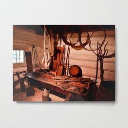 In the barn Metal Print