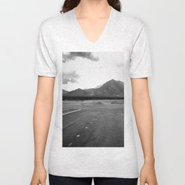 Where the City Ends, And Giants Take Over Unisex V-Neck