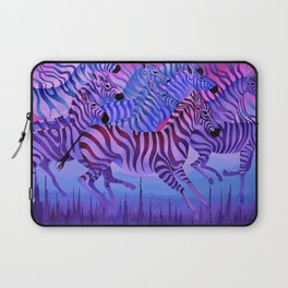 Flying above the sky. Laptop Sleeve