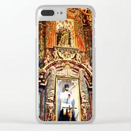 San Xavier 1 Clear iPhone Case