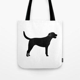 Black Labrador Retriever Silhouette #society6 #decor #buyart #artprint Tote Bag