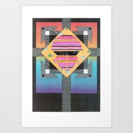 Orbital Reflex (2011) Art Print