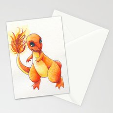 Little Charming Salamander Stationery Cards