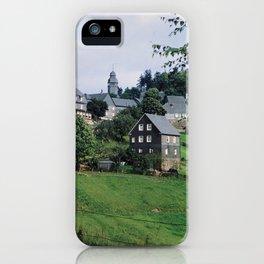 Nordenau im Sauerland, 1958 iPhone Case