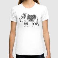 henna T-shirts featuring Henna Elephant by Julie Erin Designs