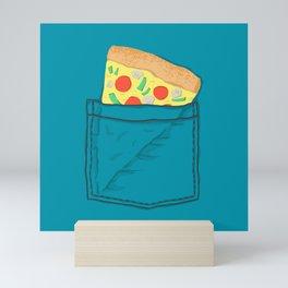 Emergency supply - pocket pizza Mini Art Print