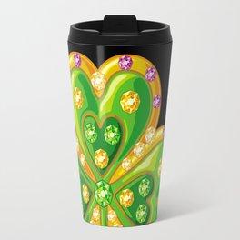Jewelry shamrock Travel Mug