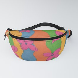 Retro: Flower Power Fanny Pack