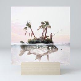 Something Fishy Mini Art Print
