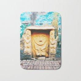 Sculptural door in Bogotá, Colombia Bath Mat
