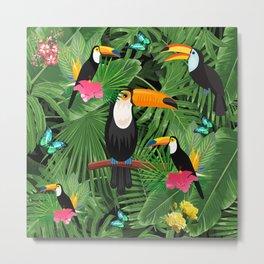 Toucan tropic Metal Print