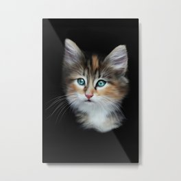 Kitten Metal Print