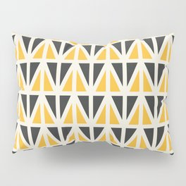Sunny Triangles Pillow Sham